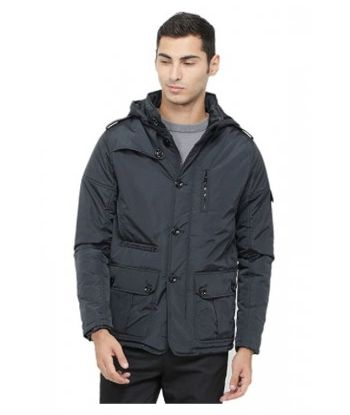MEN PADDED JACKET WITH FLEECE LINING