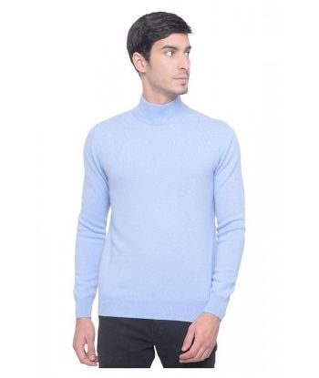 ADULT MOCK NECK CASHMERE SWEATER
